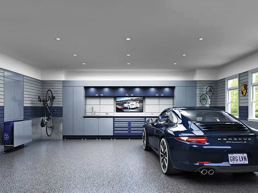 custom garage interiors in Barrington, IL